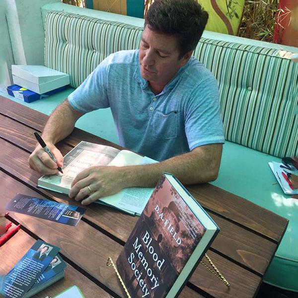 Dr. Darryl A. Field at his book signing